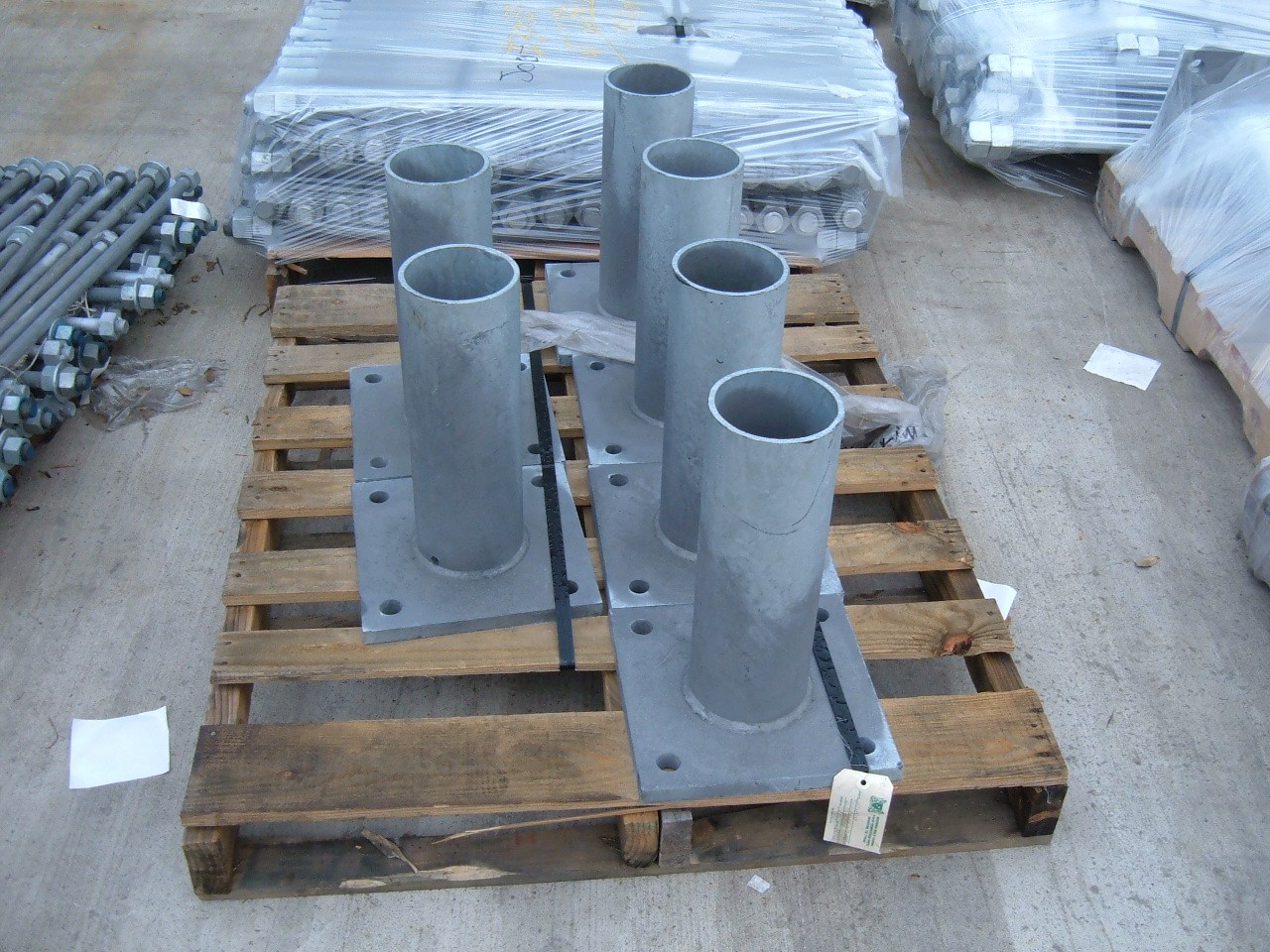 Galvanized Base Plates