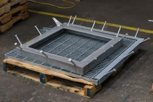 Embedded Steel Grate