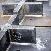 Plain Embedded Steel Plates